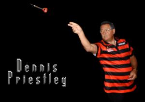 Dennis Priestley 2 time world darts champion