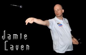 Jamie Caven legend of darts