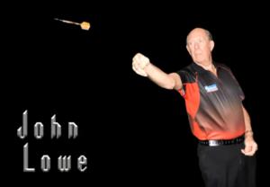 John Lowe MBE Legends of darts