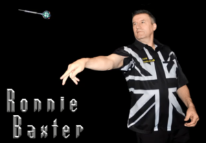 Ronnie Baxter legend of darts